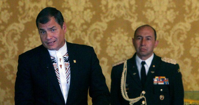 Rafael Correa reconoce derrota y felicita a Guillermo Lasso