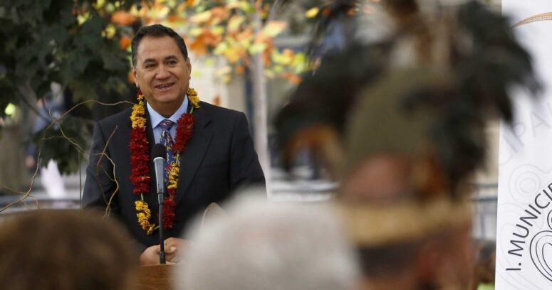 """""""El duro diagnóstico del alcalde de Rapa Nui:"""