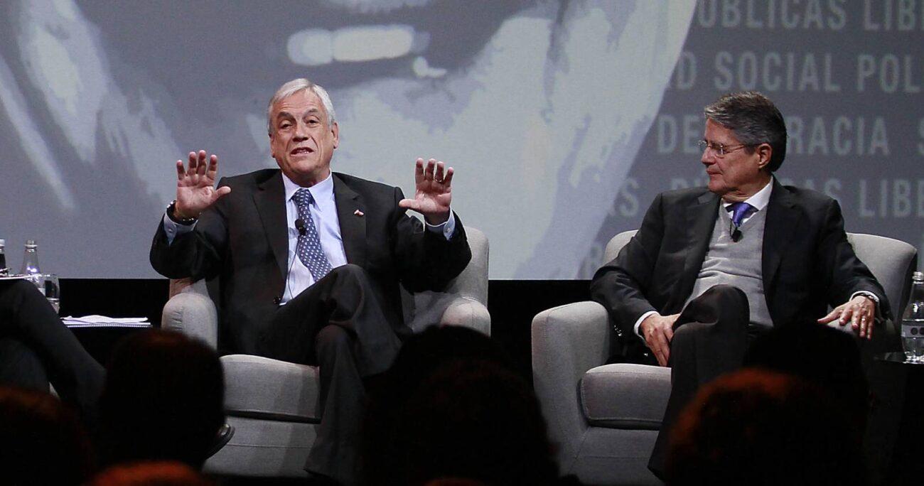 Ambos mandatarios son amigos y comparten varias similitudes. Vienen del mundo financiero, en el cual tuvieron éxito. AGENCIA UNO/ARCHIVO