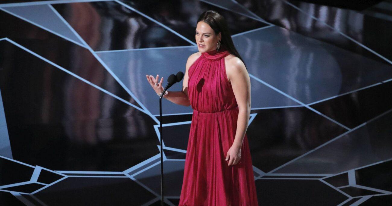 La actriz durante la entrega en los premios Oscar en 2018. AGENCIA UNO/ARCHIVO
