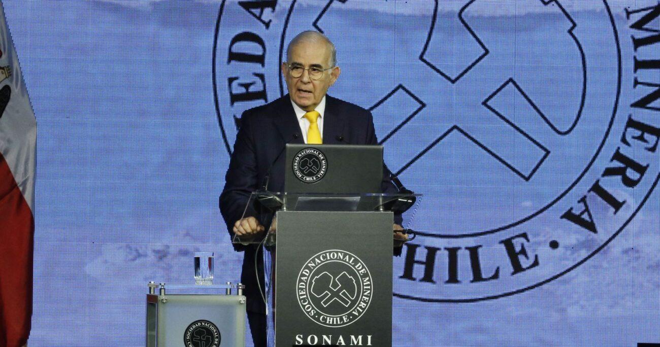 Diego Hernández, presidente de Sonami. AGENCIA UNO/ARCHIVO