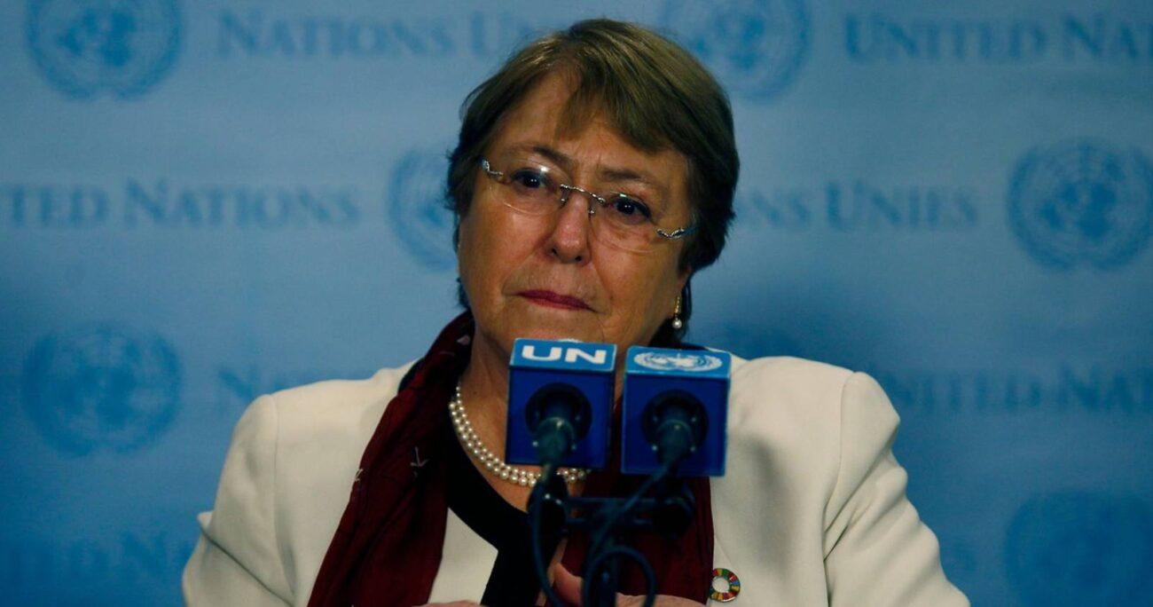 Bachelet sostuvo que se trata de un veredicto histórico. AGENCIA UNO/ARCHIVO