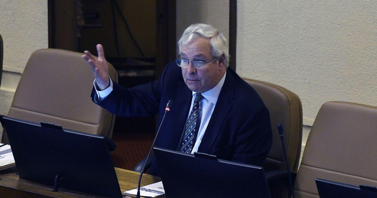 El legislador condicionó su apoyo al proyecto a una indicación para que los partidos paguen este impuesto. AGENCIA UNO/ARCHIVO