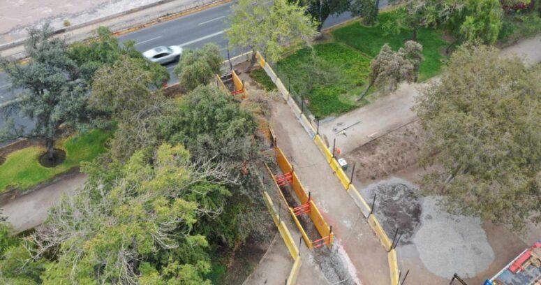 """""""Nueva Alimentadora Providencia: la obra que reforzará el sistema de suministro de agua en la capital"""""""