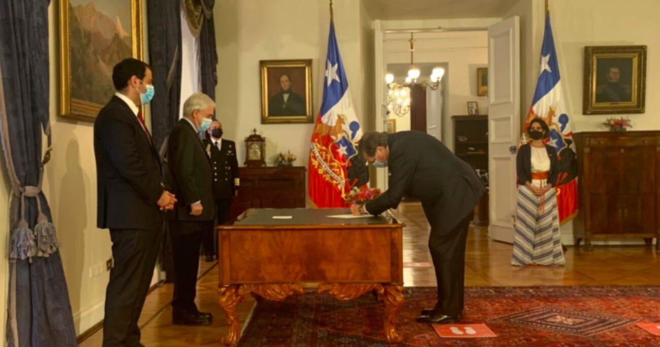 Antes de llegar al cargo Patricio Melero fue por ocho periodos diputado. (Prensa Presidencia).