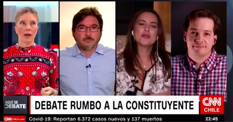 """VIDEO – El duro cruce entre Henry Boys y Mónica Rincón: """"No me vengan con que esta Constitución la hizo Pinochet"""""""
