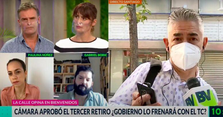"""""""¿Socorrer a los chilenos o destruir el sistema de pensiones?"""": la incómoda pregunta de Amaro Gómez-Pablos a Boric"""