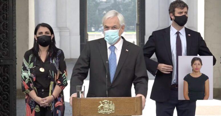 """""""Piñera anuncia IFE"""