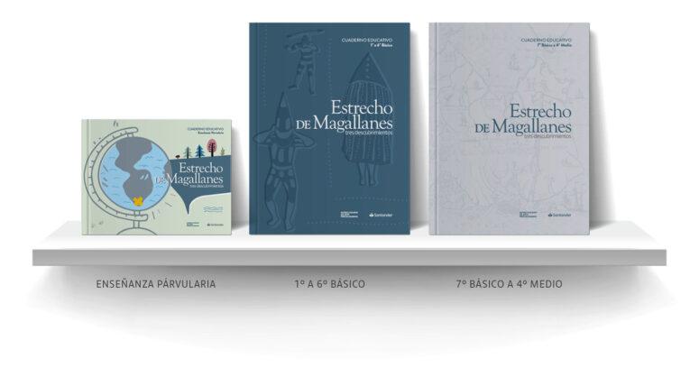 """Lanzan cuadernillos educativos digitales basados en el libro """"Estrecho de Magallanes: tres descubrimientos"""""""