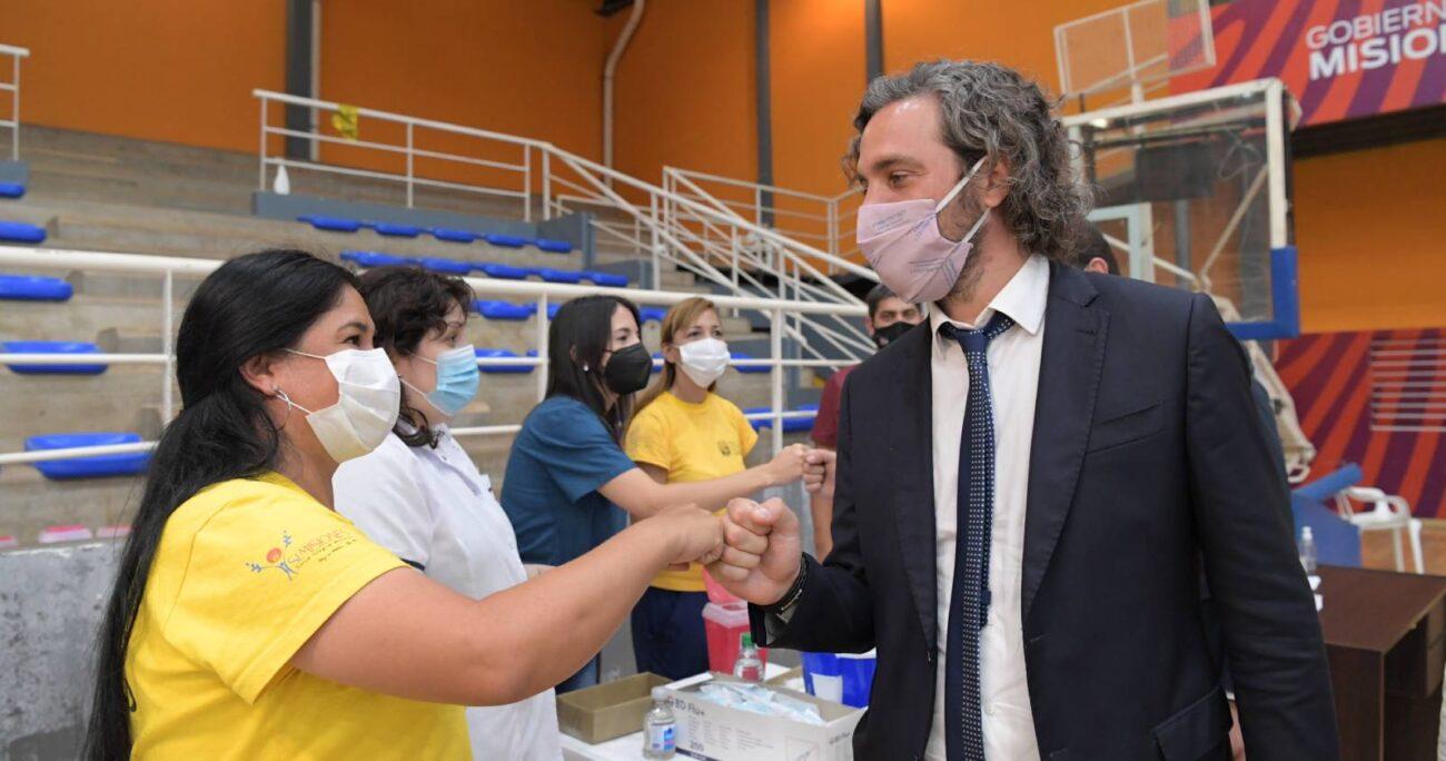El jefe de Gabinete de Alberto Fernández, dijo que Chile recibió 30 mil vacunas Pfizer. (Foto: @SantiCafiero)