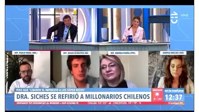 VIDEO – El cruce entre Julio César Rodríguez y el diputado Schalper