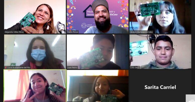 STEM En Tu Casa: estudiantes aprenden a programar usando Internet de las Cosas