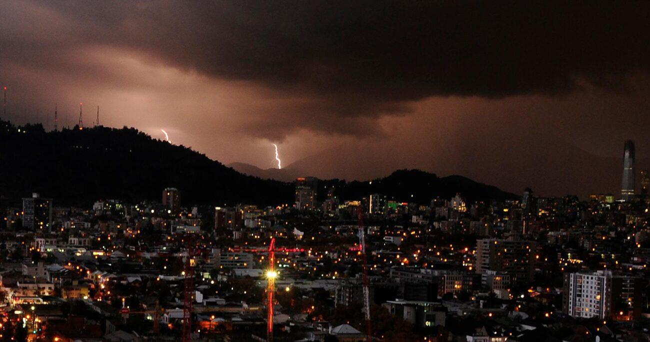 Además, se esperan precipitaciones desde las 20:00 horas. AGENCIA UNO/ARCHIVO