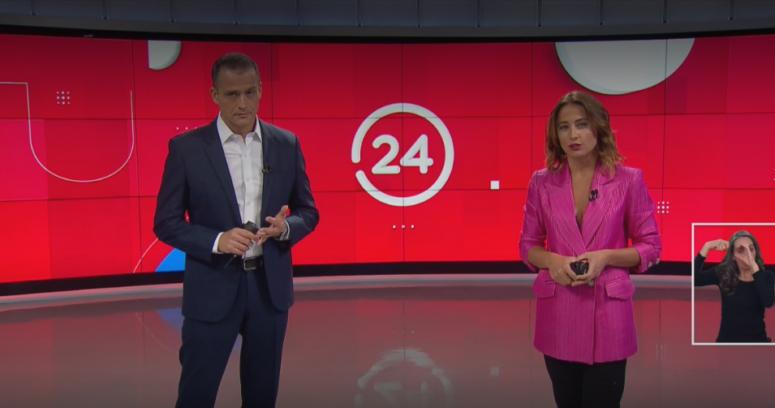 """Iván Núñez vuelve a 24 Horas tras ataque: """"Muchas gracias por toda la solidaridad"""""""