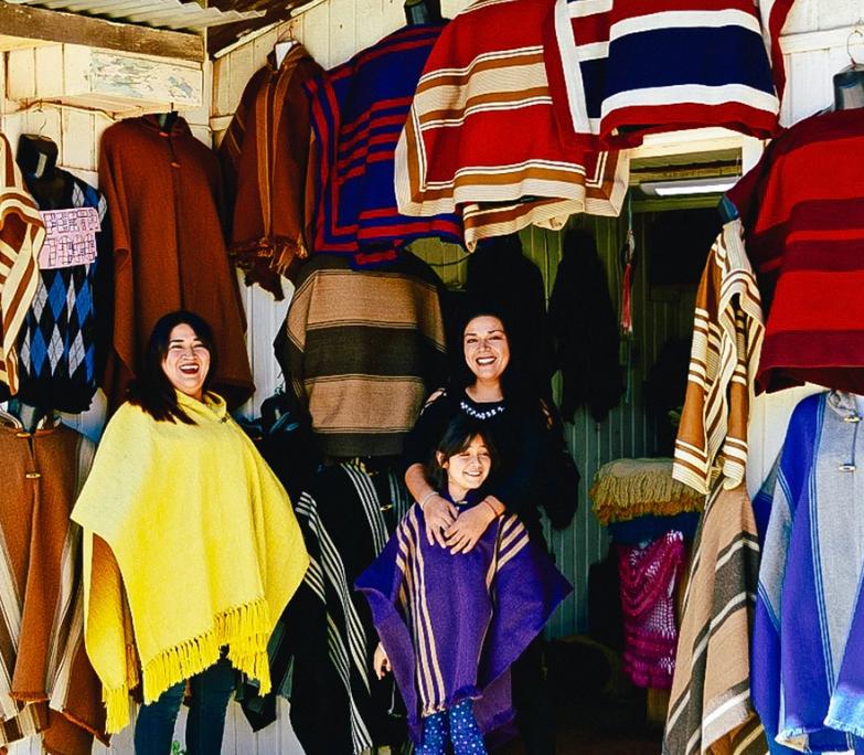 El proyecto LaChomba que ya incorpora a tres familias de la localidad de Valle Hermoso. LACHOMBA CHILE