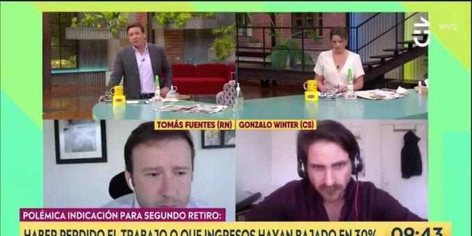 """""""Diputados cuestionan a Tomás Fuentes (RN) por constantes apariciones en matinales"""""""