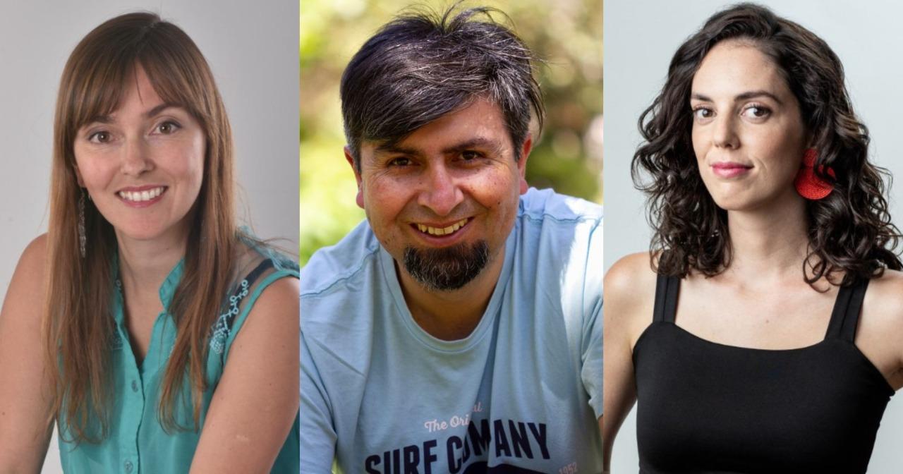 Andrea Petermann, Isías Rojas y Carolina Pérez son partes de la conversación sobre la nueva Constitución.