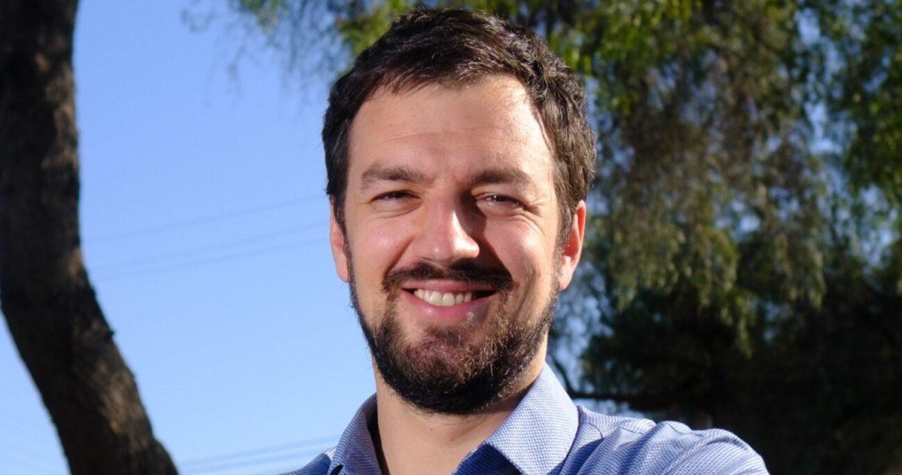 Tomás Vodanovic, candidato a alcalde apoyado por el Frente Amplio.