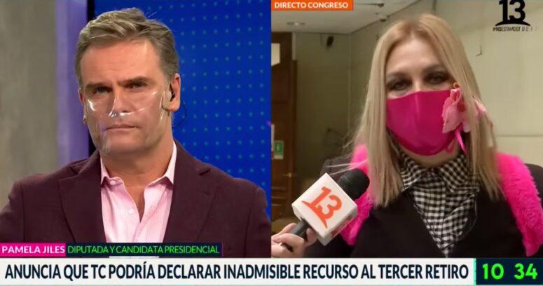 """Amaro Gómez-Pablos tras tensa entrevista con Pamela Jiles: """"Su brillo fue la descalificación"""""""