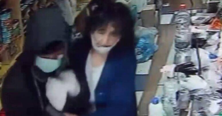 Asaltante entró a robar a minimarket, se arrepintió y lloró junto a la víctima en Collipulli