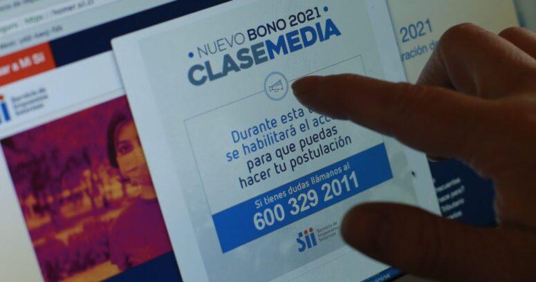 """""""SII ha recibido más de 570 mil solicitudes al nuevo Bono Clase Media"""""""