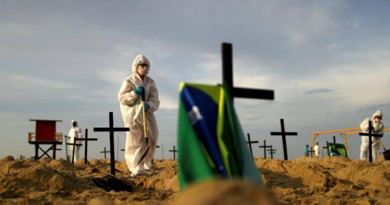 Brasil supera el medio millón de muertes por coronavirus