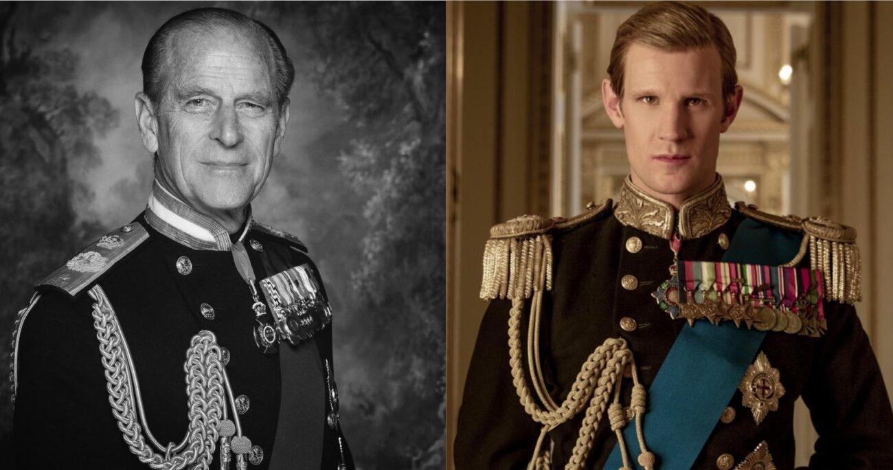 En la serie, los actores Matt Smith y Tobias Menzies interpretaron al duque. INSTAGRAM/NETFLIX.