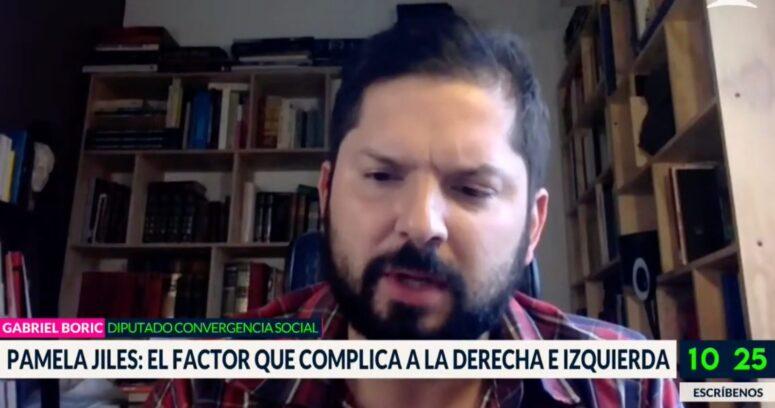 """Gabriel Boric evitó responder pregunta sobre Pamela Jiles en Bienvenidos: """"No me interesa"""""""
