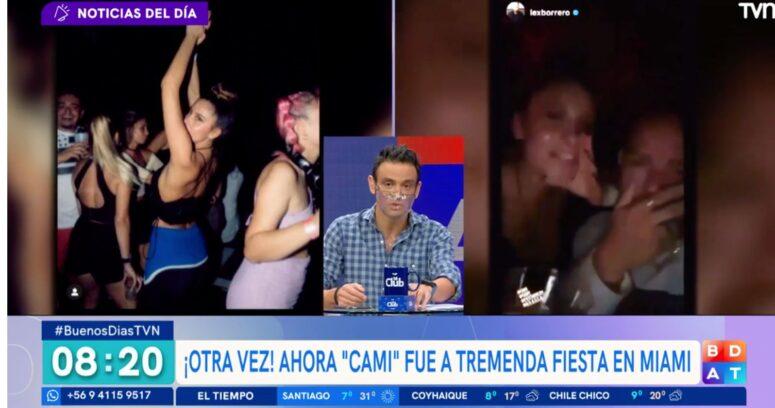 VIDEO – La crítica de Gonzalo Ramírez contra Cami por participación en fiesta en Miami