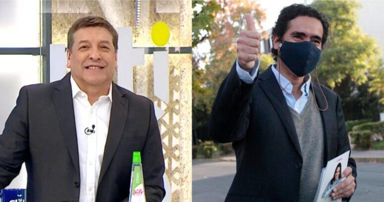 """""""Se está revolcando en tinta china"""": la broma de Julio César Rodríguez por columna de Ignacio Briones"""