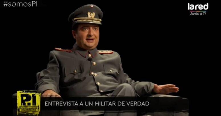 """""""Sketch de La Red generó defensa conjunta de las FF.AA. y el Gobierno"""""""