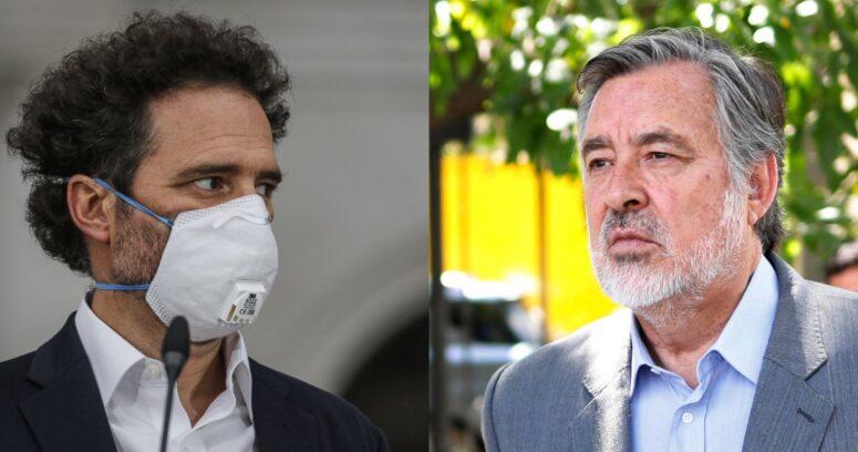 """""""Si yo estuviera en La Moneda no habría cientos de ojos mutilados"""": el duro cruce entre Guillier y Hernán Larraín"""