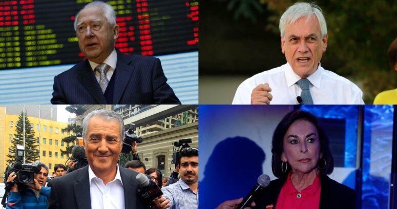 Fontbona, Ponce Lerou, Paulmann y Piñera: los millonarios chilenos que aumentaron sus fortunas durante la pandemia