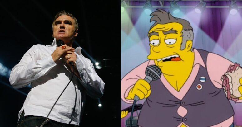"""""""Morrissey se ofende con parodia de Los Simpson y los califica de"""