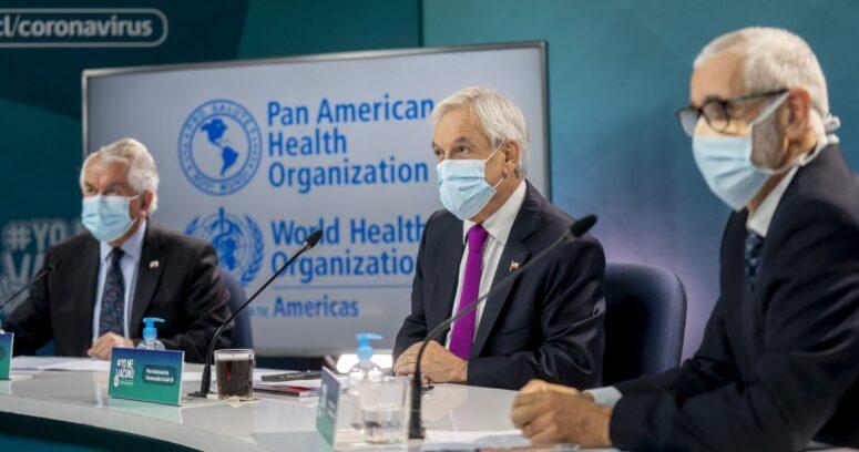 """Piñera en foro de la OMS: """"Desarrollar la vacuna fue sólo la mitad de la pelea"""""""