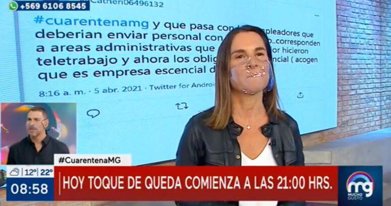 """VIDEO – Paulina de Allende-Salazar a José Antonio Neme: """"¿Saliste fuera de Chile?"""""""