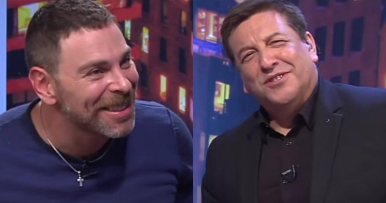 Ambos conversaron en el programa Síganme Los Buenos del canal Vive!. (Captura de pantalla)