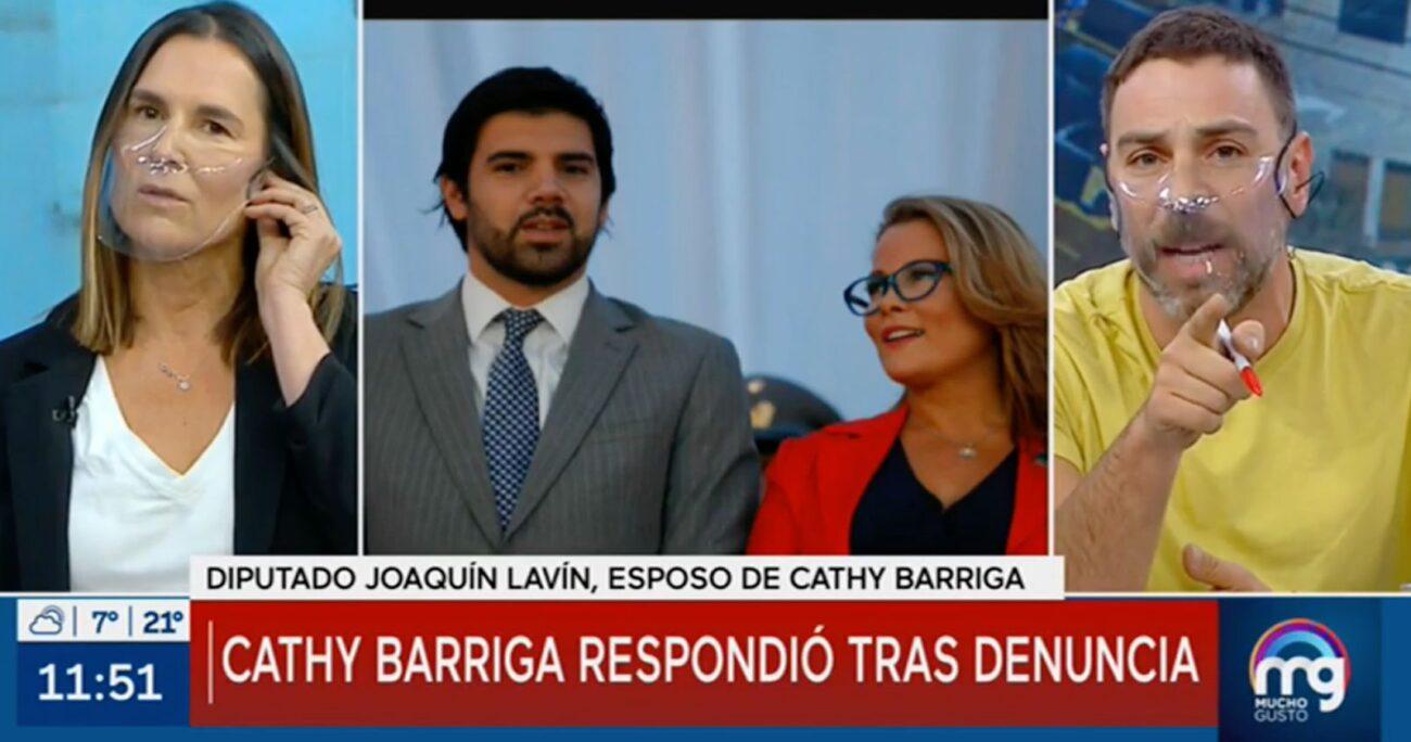 El diputado había llamado para defender a Barriga del reportaje que presentaron ayer en el matinal de Mega.