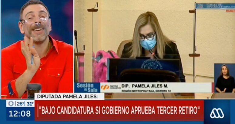 """VIDEO – """"Describe una tragedia griega"""": la reacción de José Antonio Neme al discurso de Pamela Jiles"""