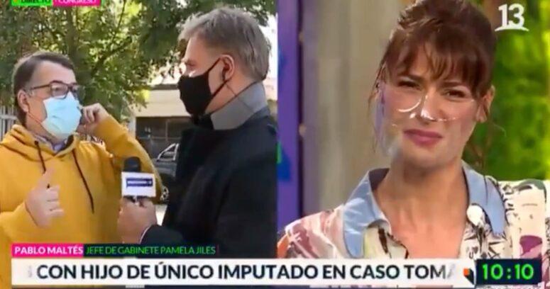 VIDEO – La reacción de Tonka Tomicic tras la confesión sexual en vivo de Pablo Maltés