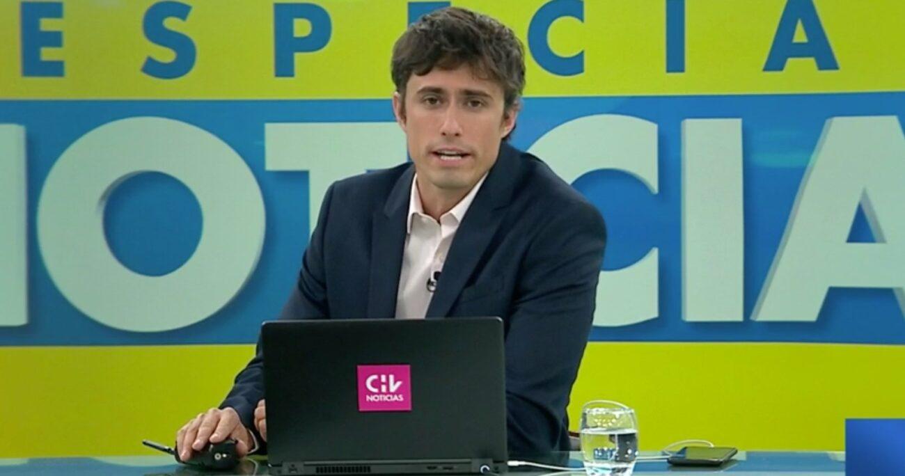 En ese entonces, Roberto Cox era conductor de CHV Noticias Central.