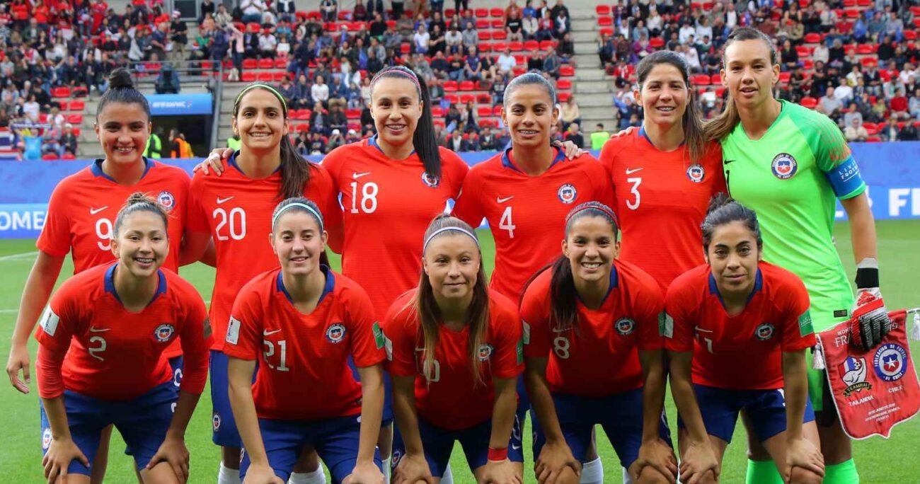La Roja femenina logró una histórica clasificación tras enfrentar a Camerún en el repechaje. AGENCIA UNO/ARCHIVO