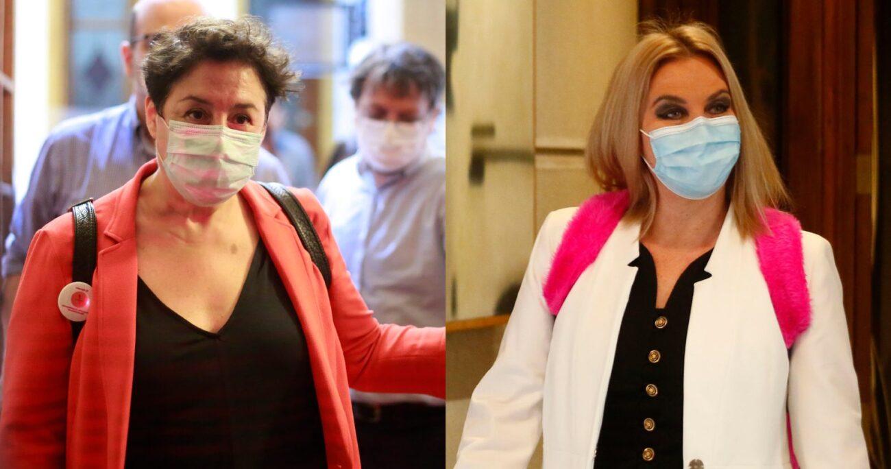 Beatriz Sánchez afirmó que no pactaría primarias con Pamela Jiles. AGENCIA UNO/ARCHIVO