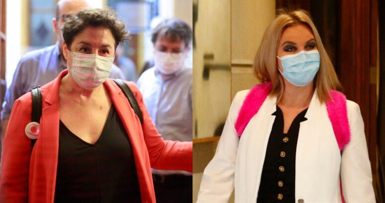 """""""Beatriz Sánchez compara a Pamela Jiles con Trump y califica como un"""