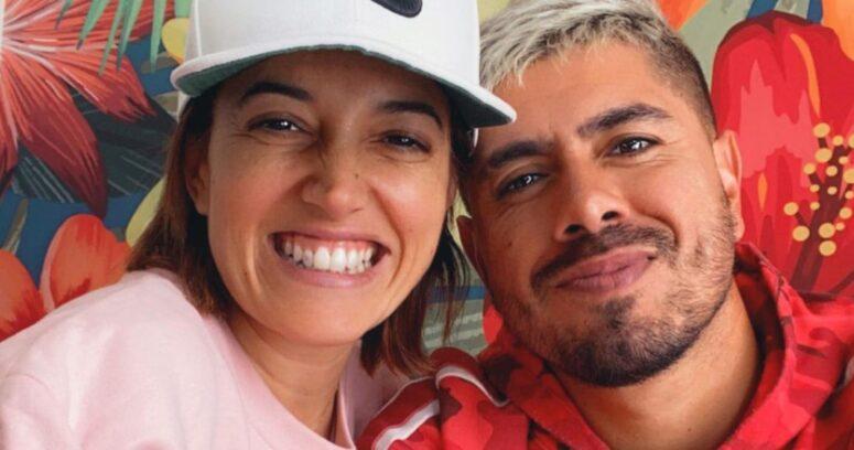 """""""¡Sí, acepto!"""": Yamila Reyna anuncia que se casará con el arquero Diego """"Mono"""" Sánchez"""
