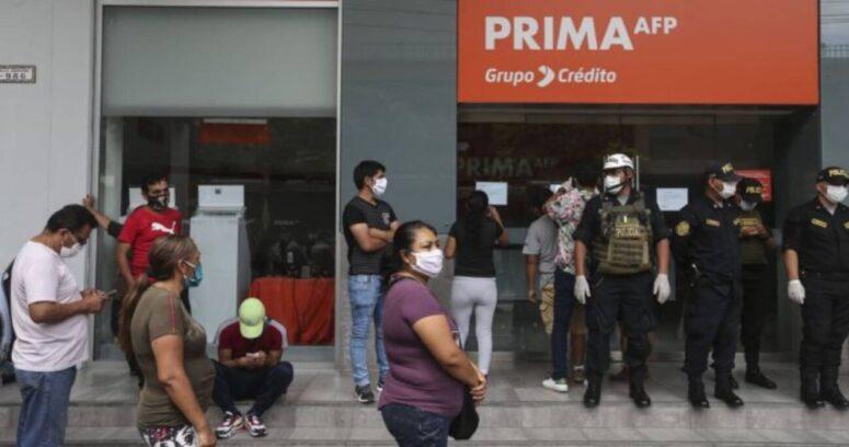 Congreso de Perú aprueba ley de tercer retiro de fondos previsionales