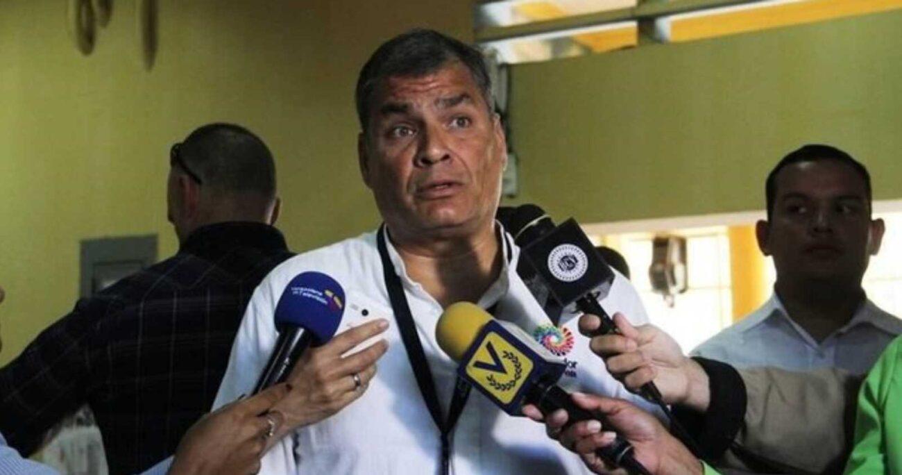 Correa ha defendido su inocencia y ha denunciado estar siendo víctima de una persecución política.  AGENCIA UNO/ARCHIVO