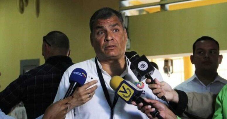 Tribunal de Ecuador recurre a la Interpol para ubicar al ex presidente Rafael Correa