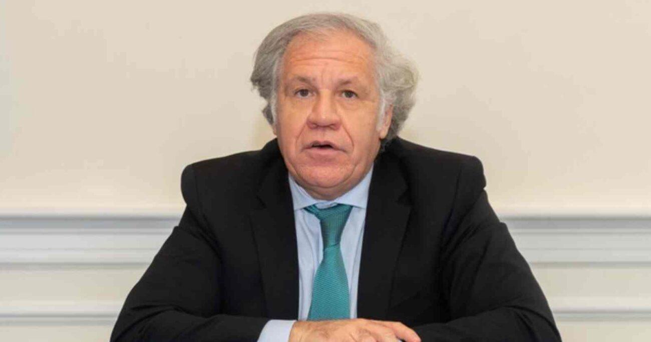 Almagro defendió el derecho de Israel a recurrir al principio de legítima defensa, por entender que su población civil se está viendo atacada.  AGENCIA UNO/ARCHIVO