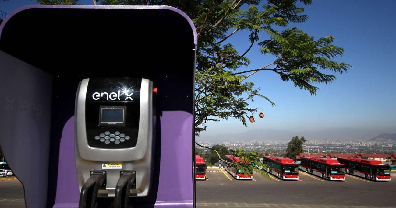 Inauguración del primer electroterminal de Latinoamérica para buses eléctricos de transporte público. AGENCIA UNO/ARCHIVO